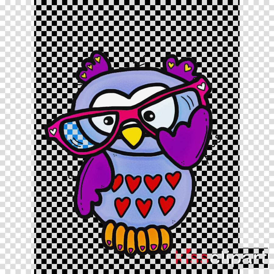 cartoon bird owl bird of prey