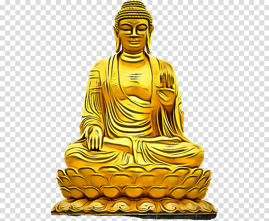 statue metal guru sculpture zen master