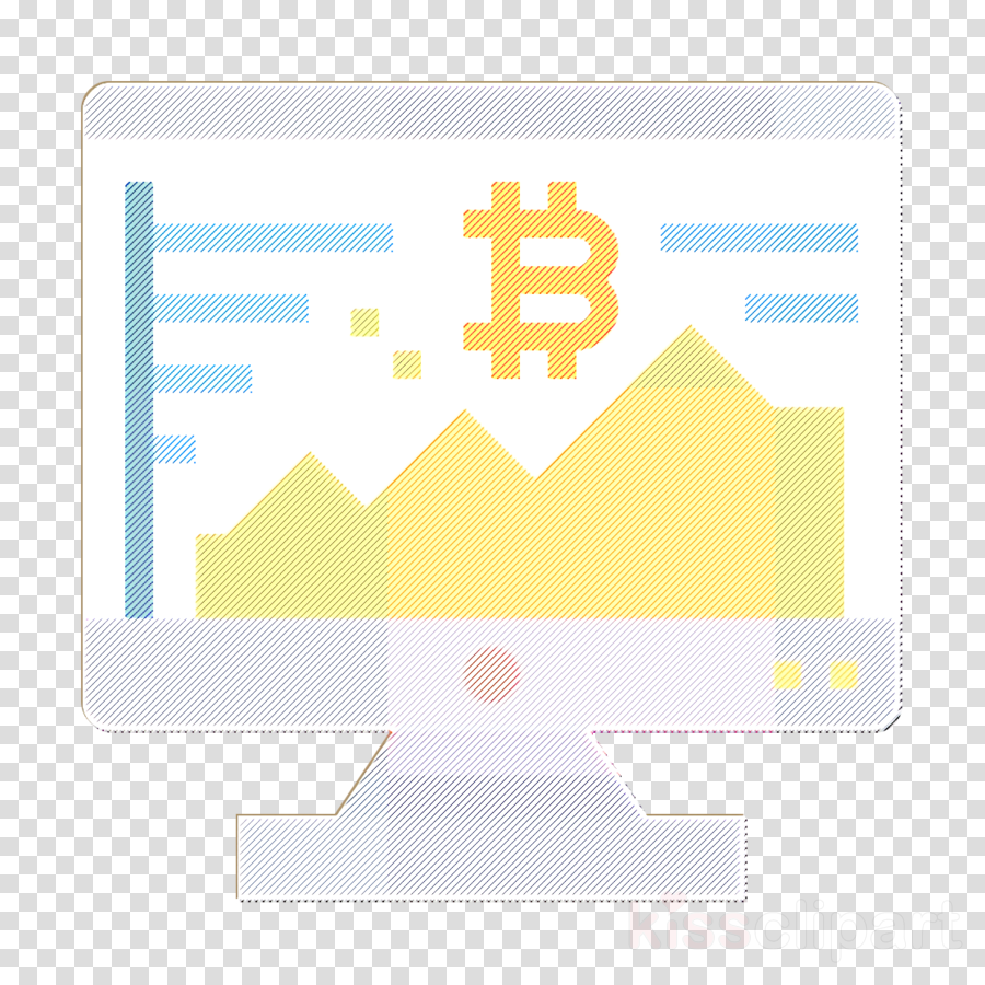 Bitcoin icon Stock icon
