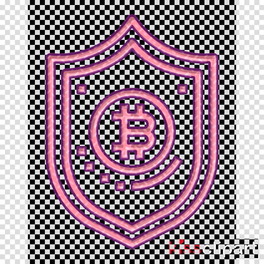 Bitcoin icon Shield icon