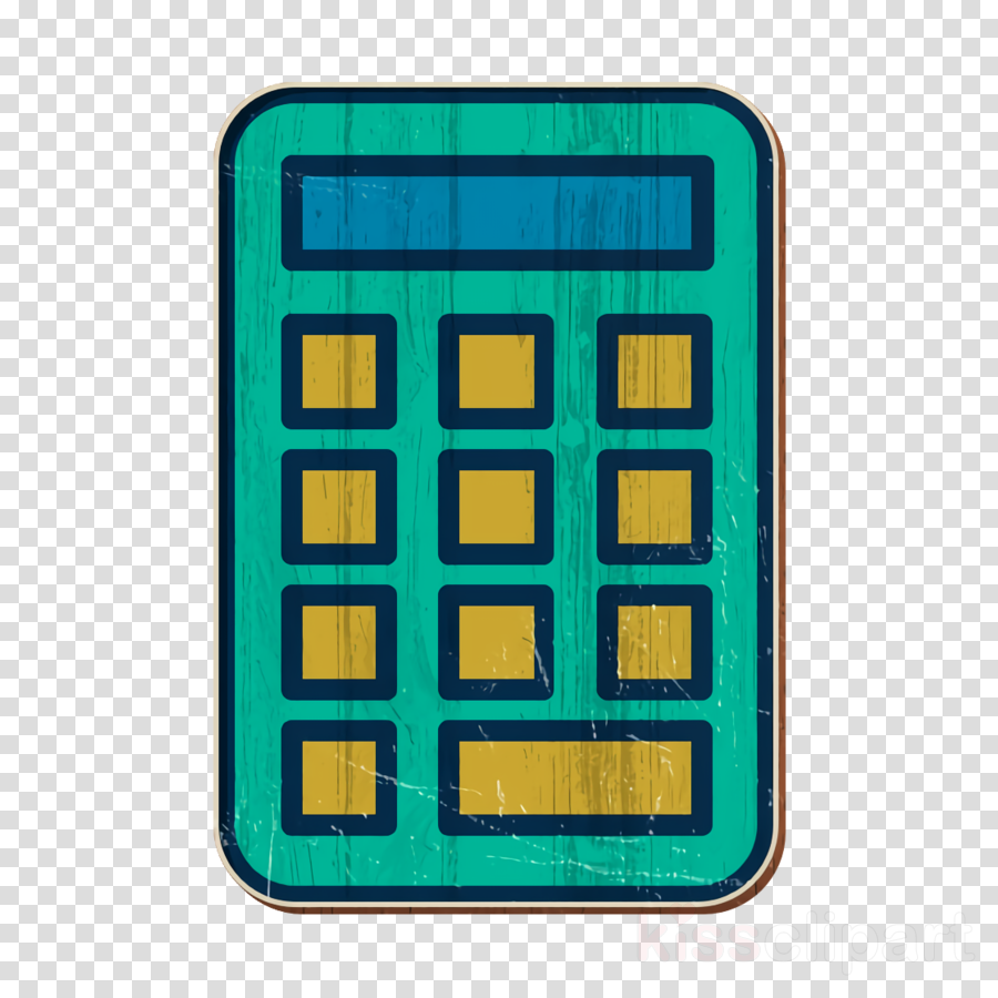 Technological icon School icon Calculator icon