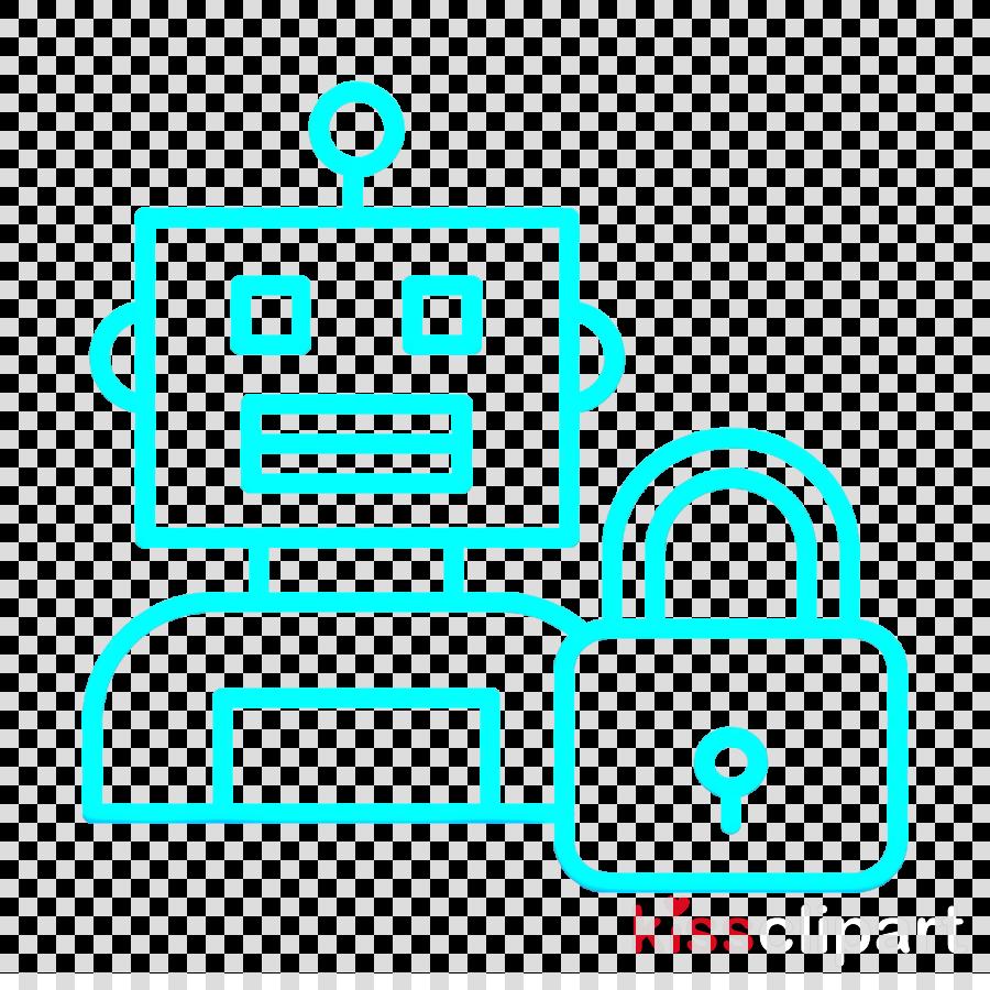 Lock icon Robots icon Futuristic icon