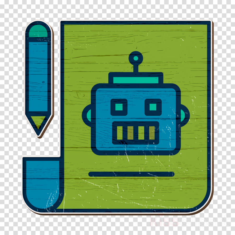 Robots icon Android icon Plan icon