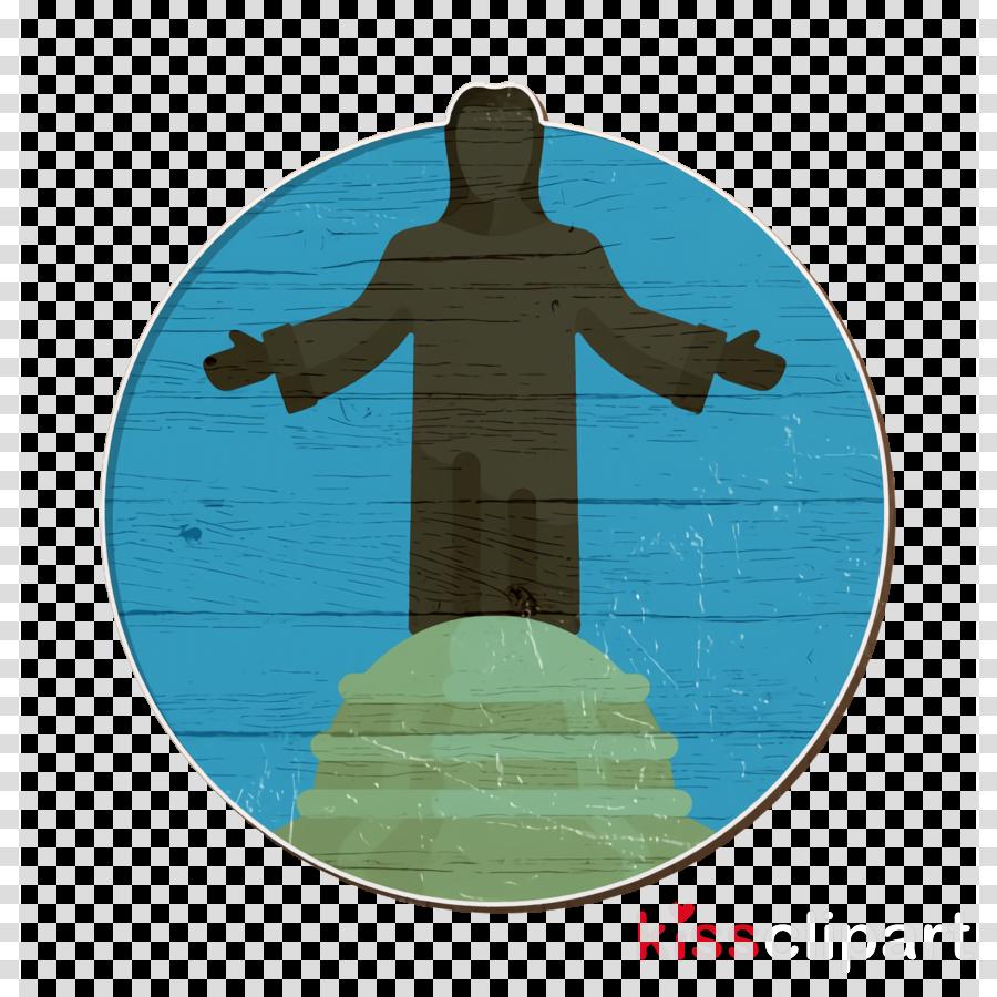 Cristo rey icon Landmark icon Colombia icon