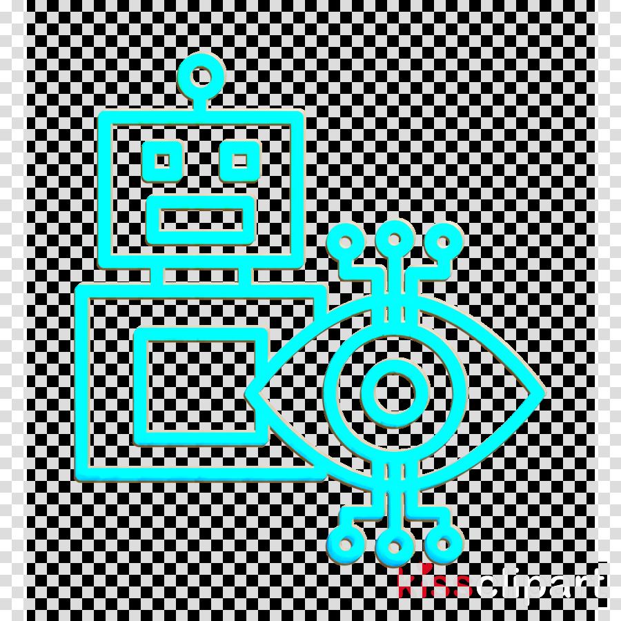 Futuristic icon Robots icon Robot icon