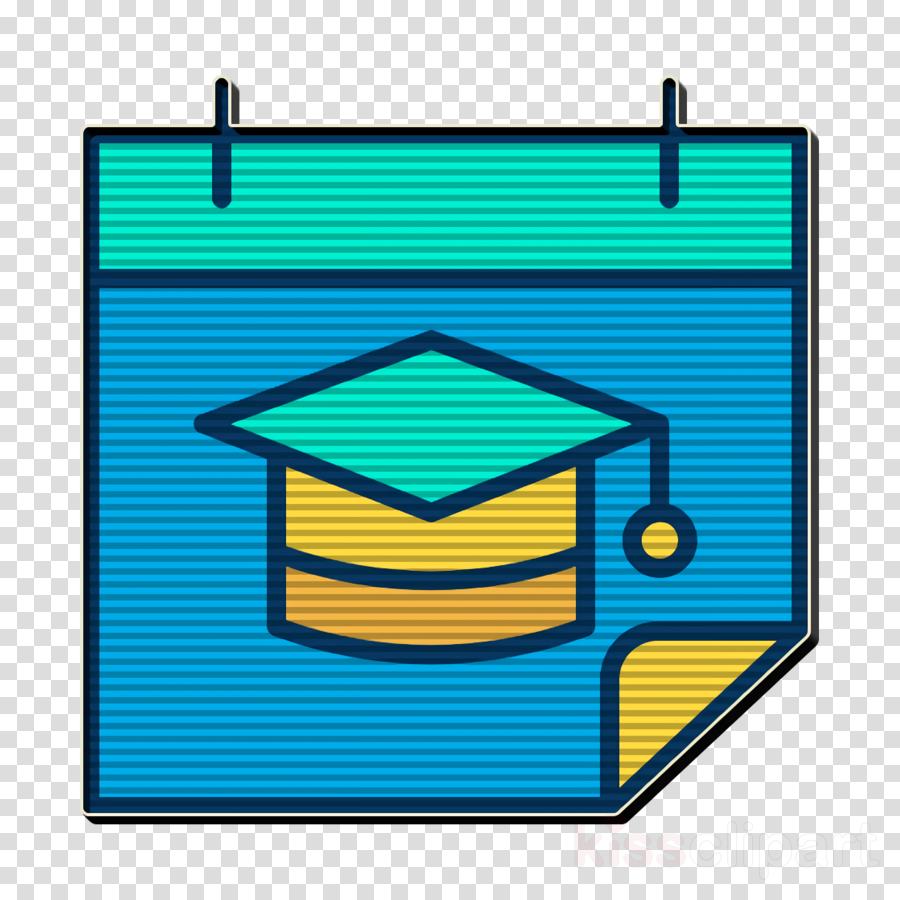 School icon Time and date icon Calendar icon