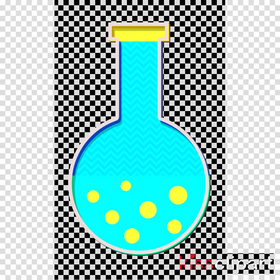 Chemistry icon School icon Flask icon