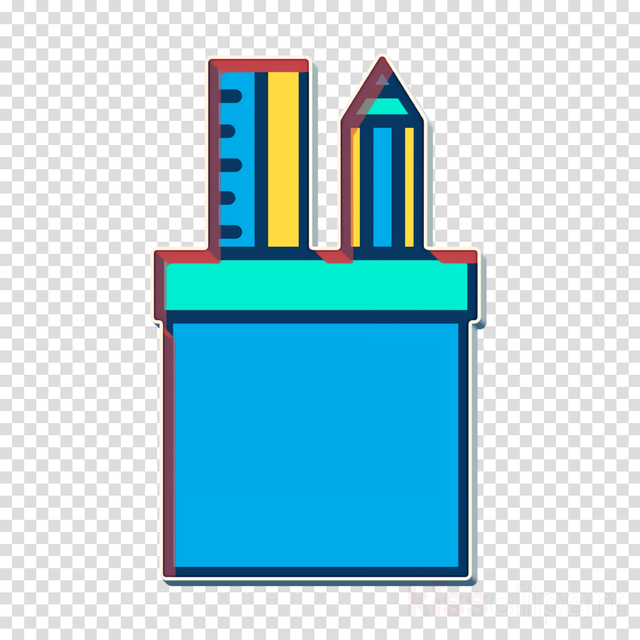 Stationery icon School icon Tools and utensils icon