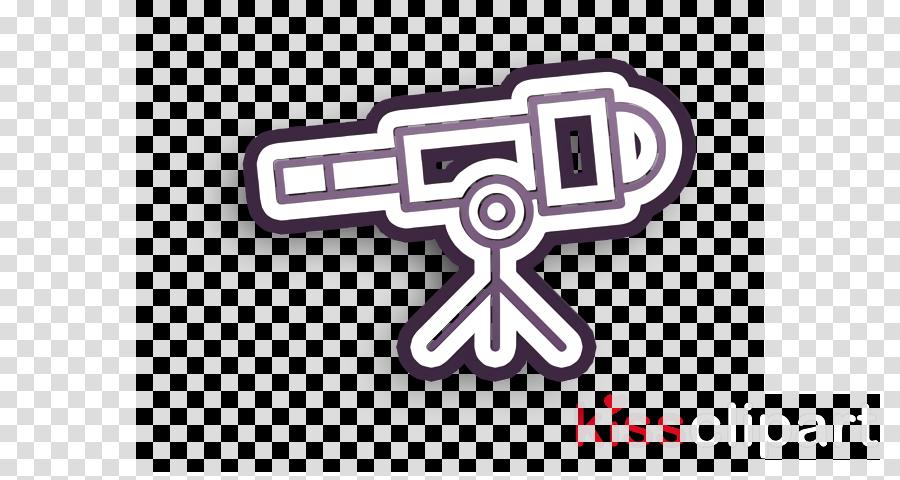 Telescope icon School icon Tools and utensils icon