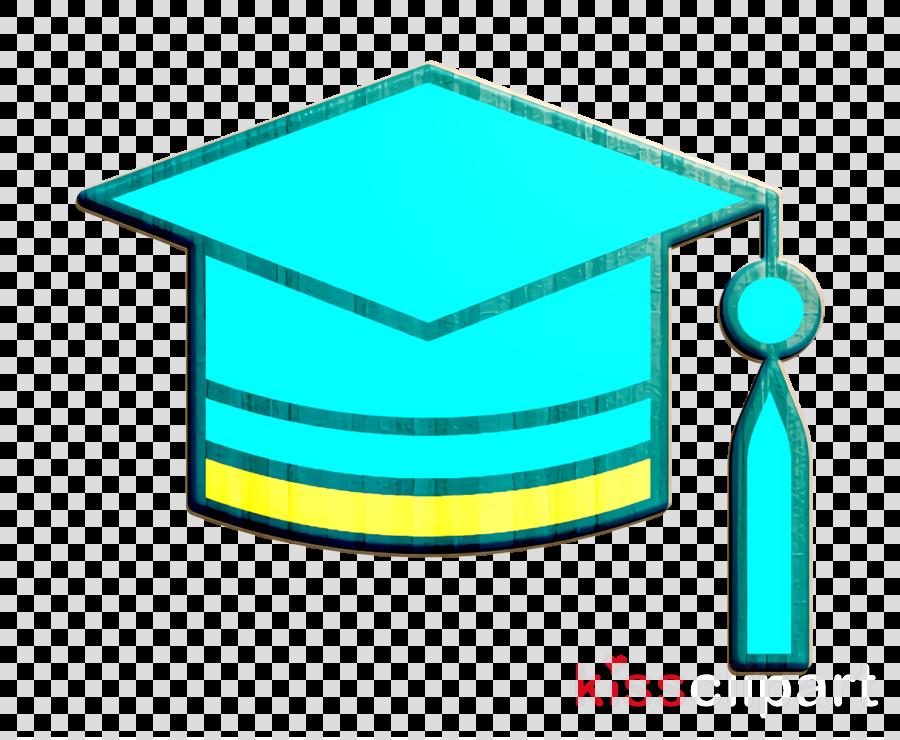 Mortarboard icon School icon