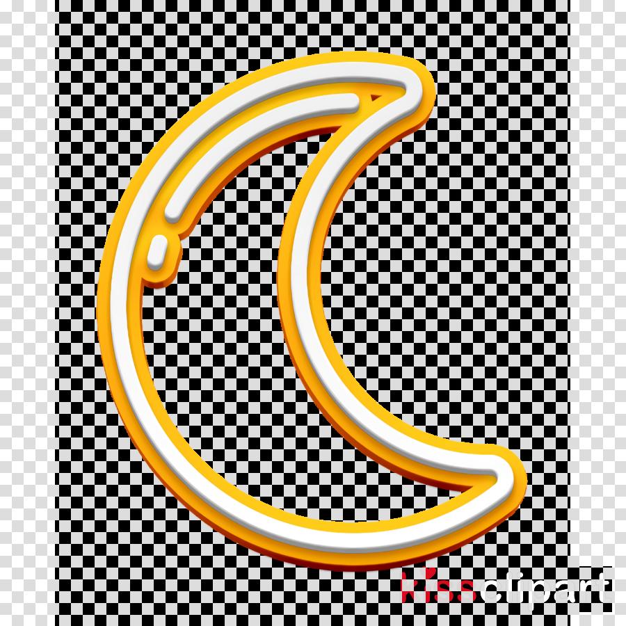 Moon icon UI icon