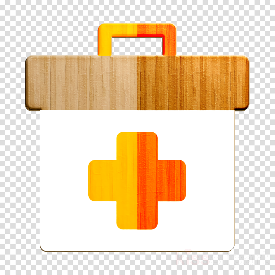 Healthcare and medical icon First aid kit icon Summer Camp icon