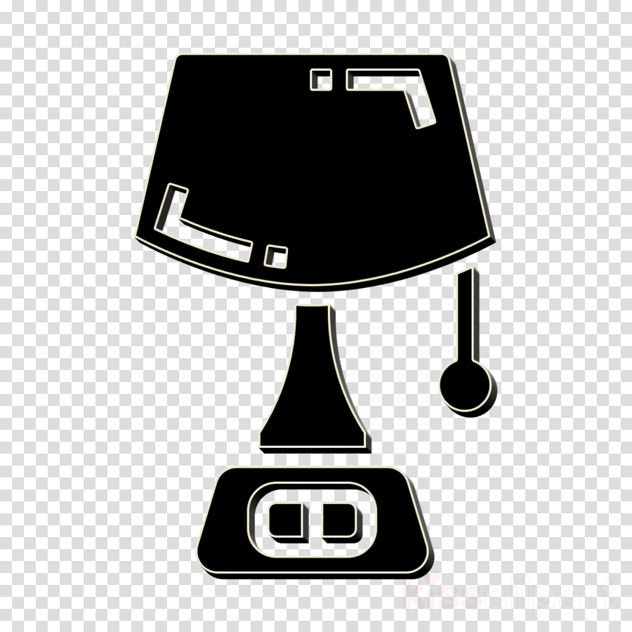 Hotel Services icon Lamp icon Table lamp icon