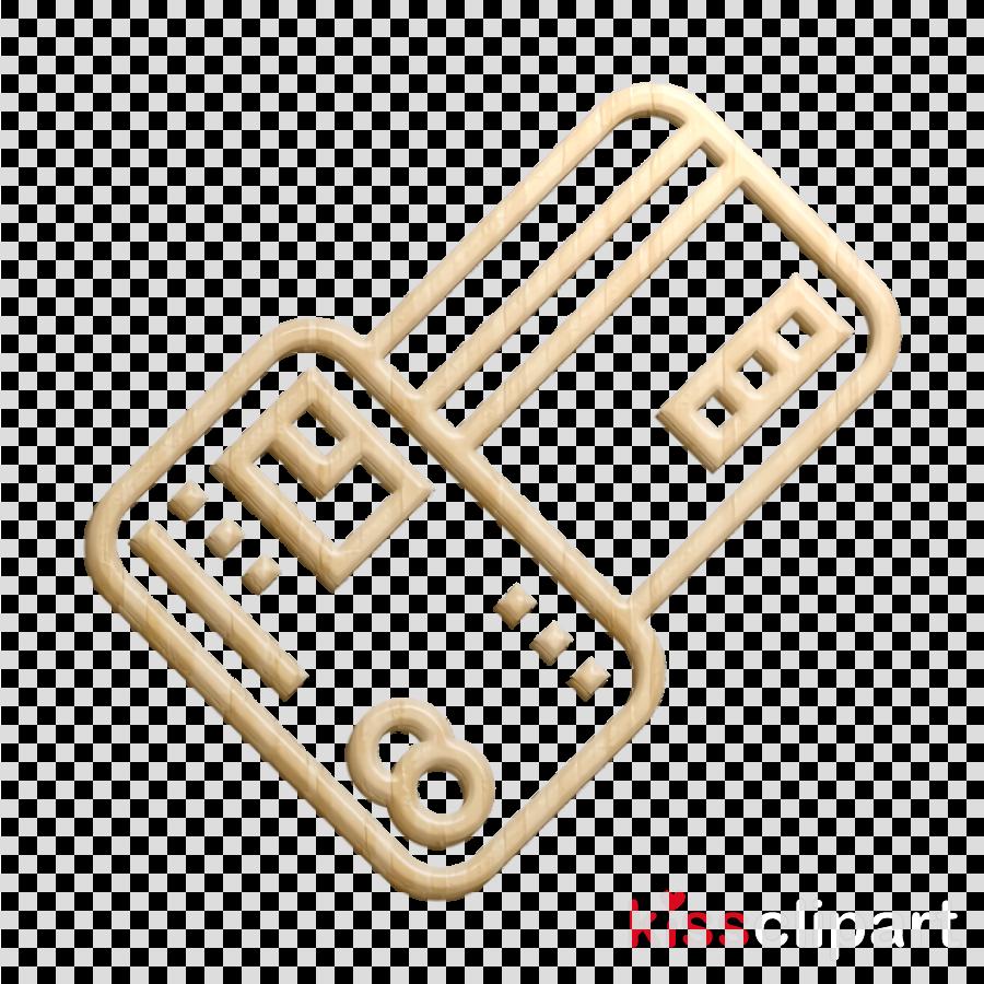 Credit card icon Bank icon Hotel Services icon