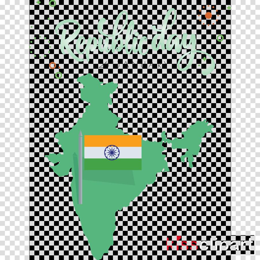 India Republic Day India Map 26 January