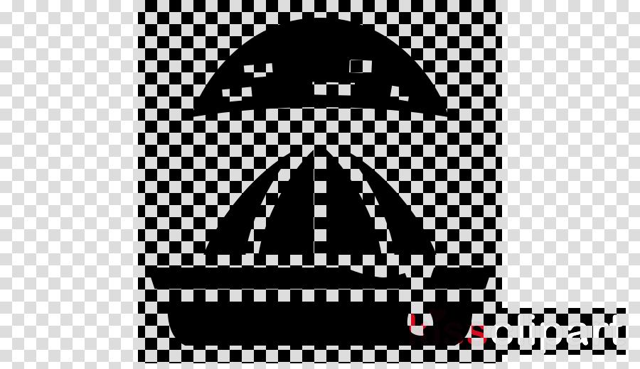logo line headgear font black-and-white