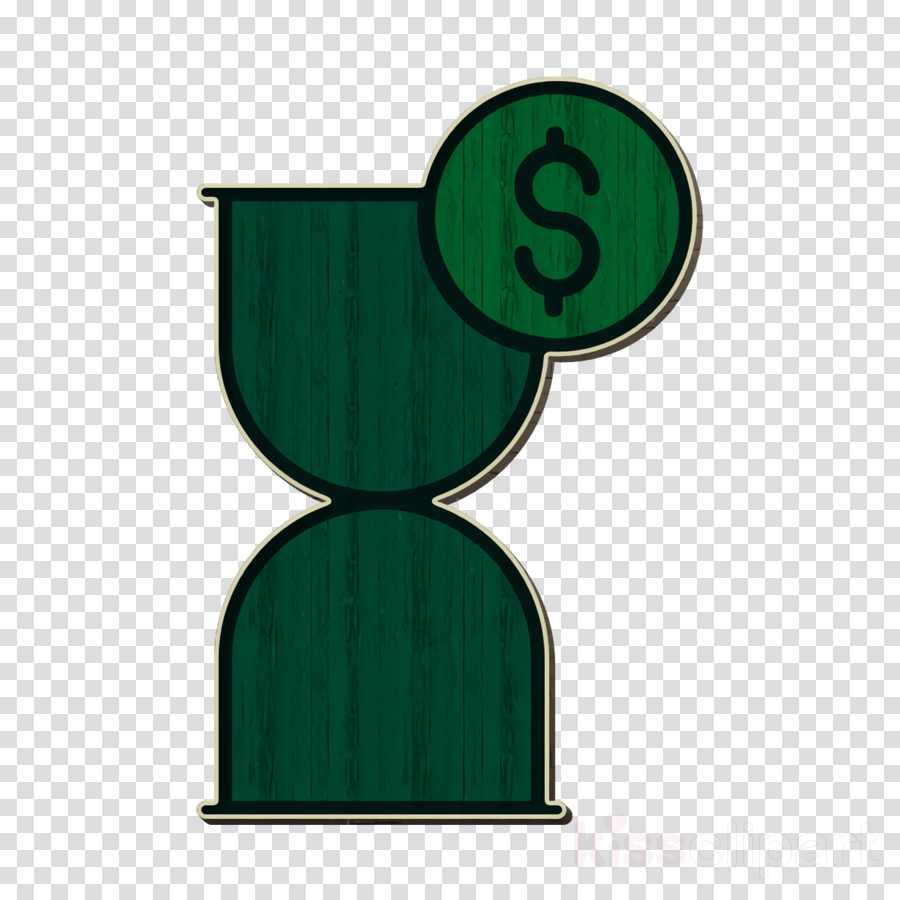 Investment icon Hourglass icon Time and date icon