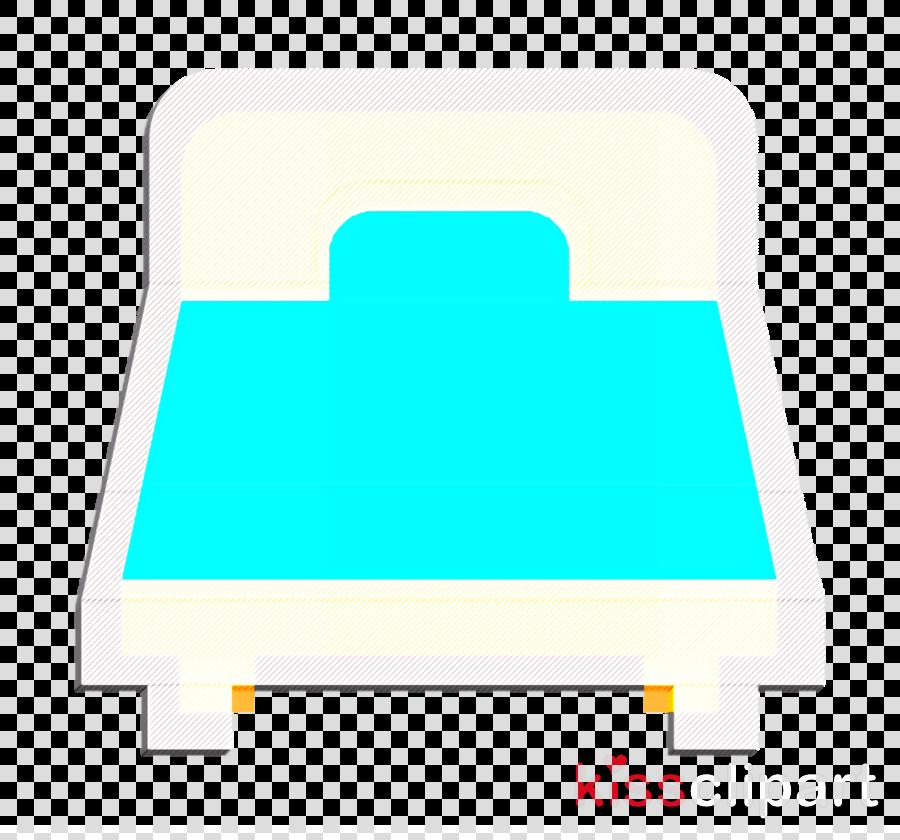 Bed icon Interiors icon