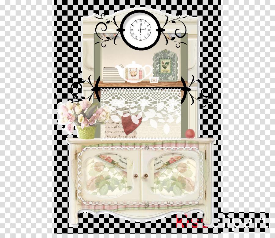 furniture drawer wall clock hutch clock
