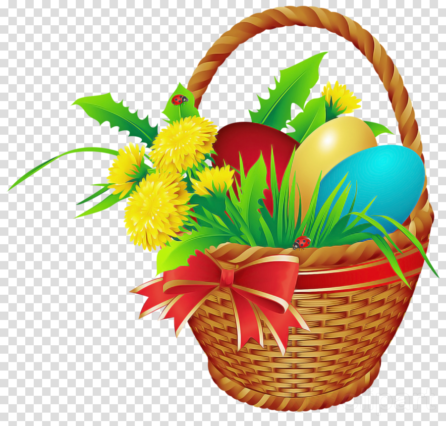 easter basket with eggs easter day basket