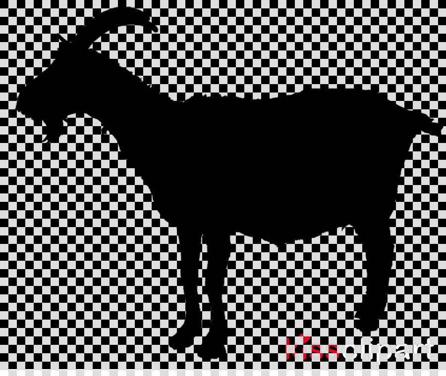goats goat goat-antelope cow-goat family silhouette