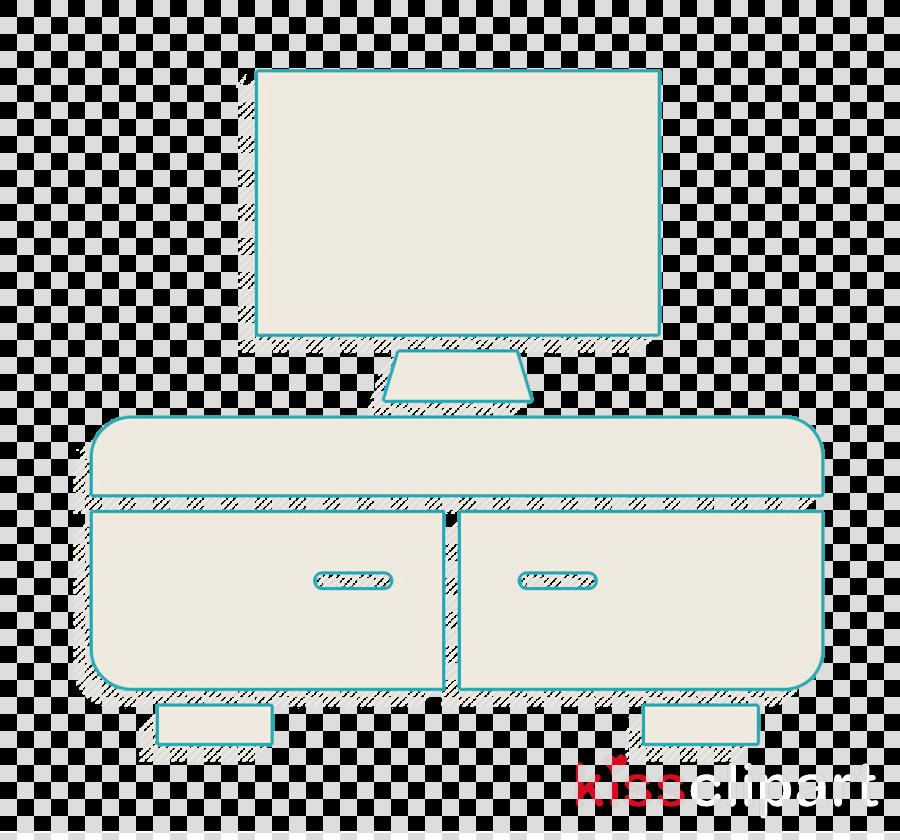 Interiors icon Cabinet icon Tv icon