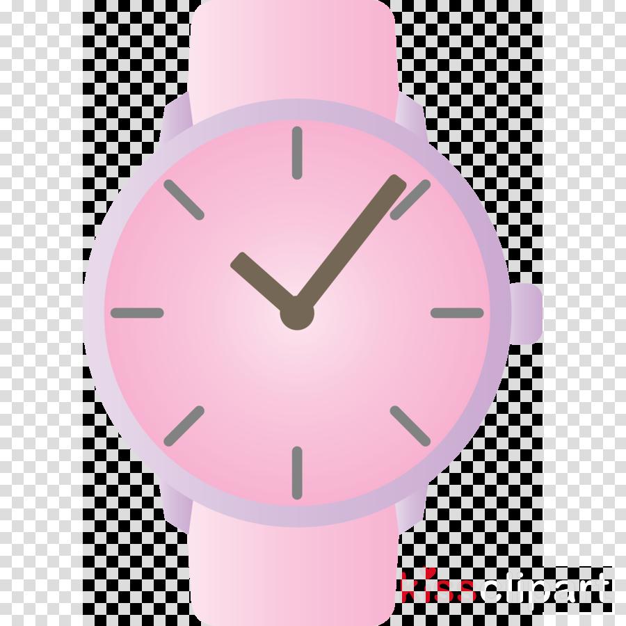 analog watch pink watch white purple