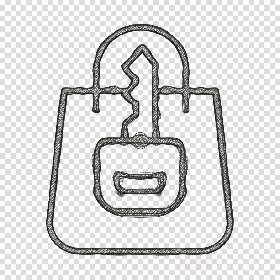 Cyber icon Shopping bag icon Safe icon