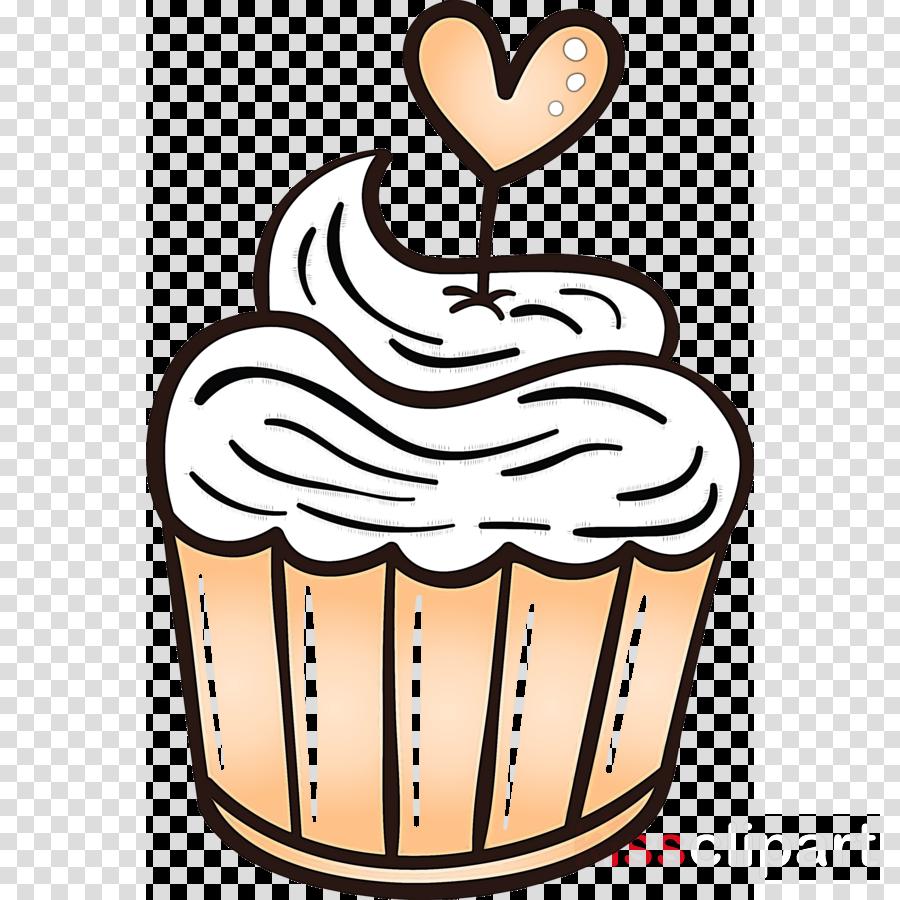 valentines day cupcake heart