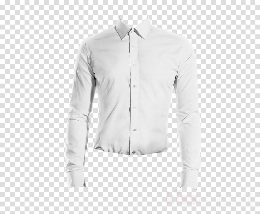 clothing white sleeve collar dress shirt