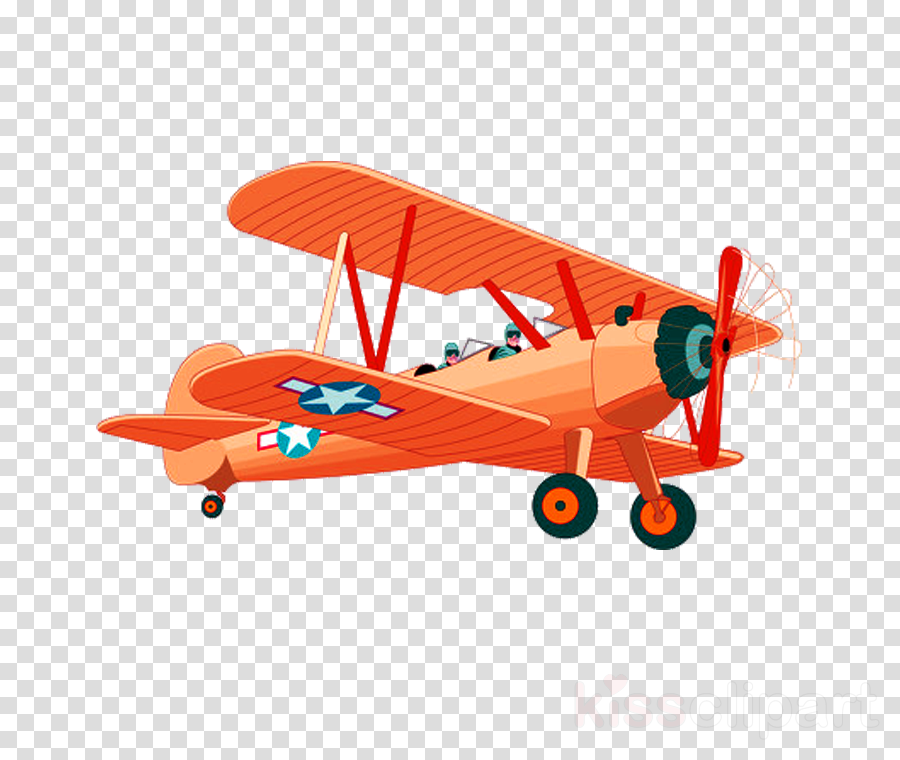 vehicle airplane aircraft biplane propeller