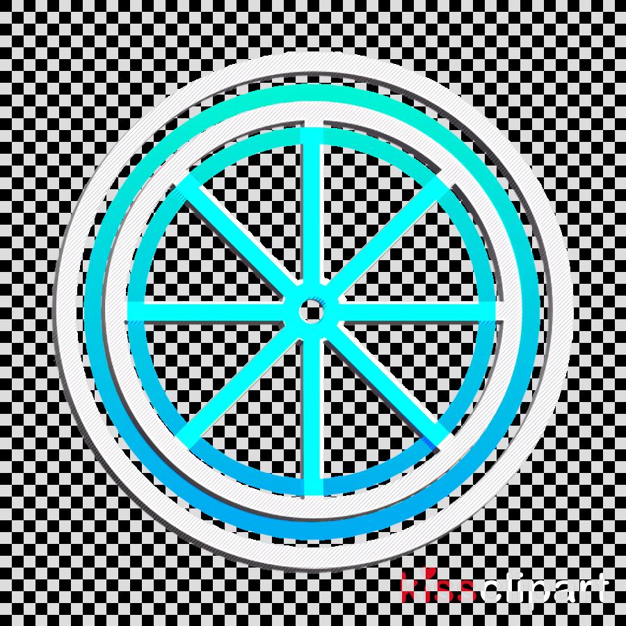 Hairdresser icon Food icon Lemon slice icon
