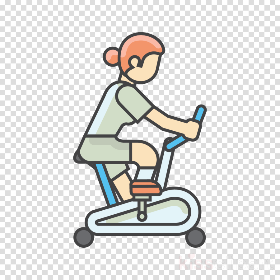cartoon line balance sitting riding toy