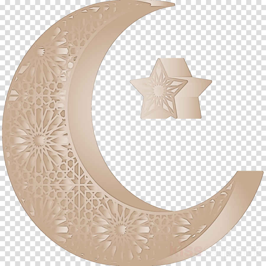 Star and Crescent ramadan kareem