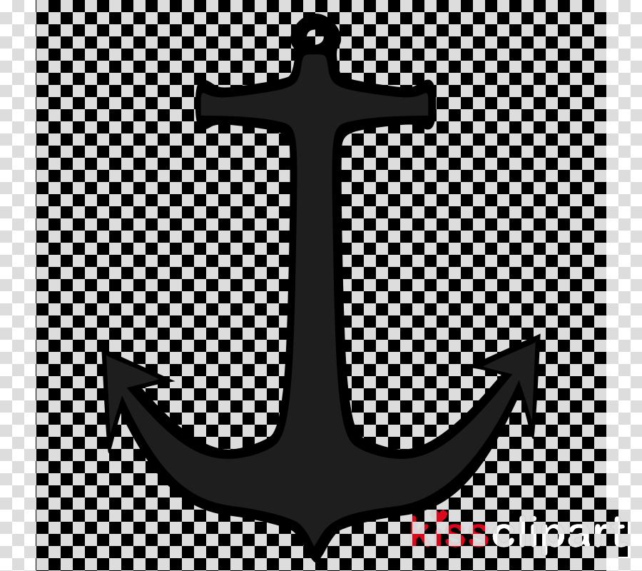 anchor symbol cross emblem logo