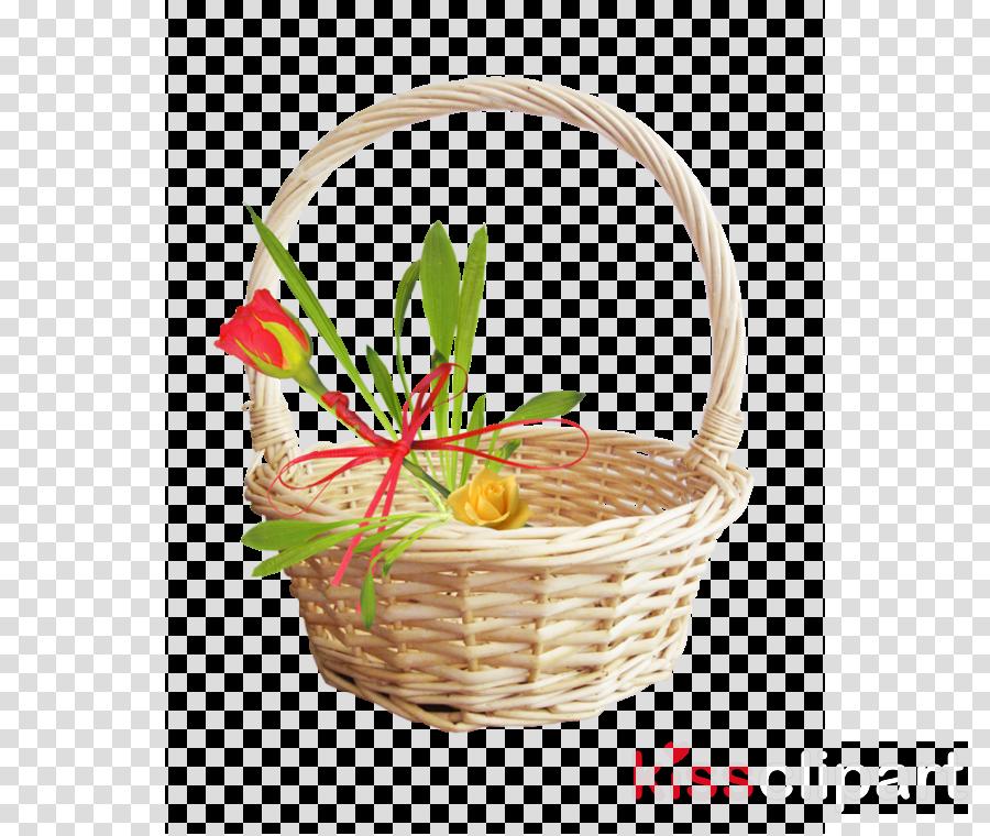 flower girl basket wicker flowerpot grass gift basket