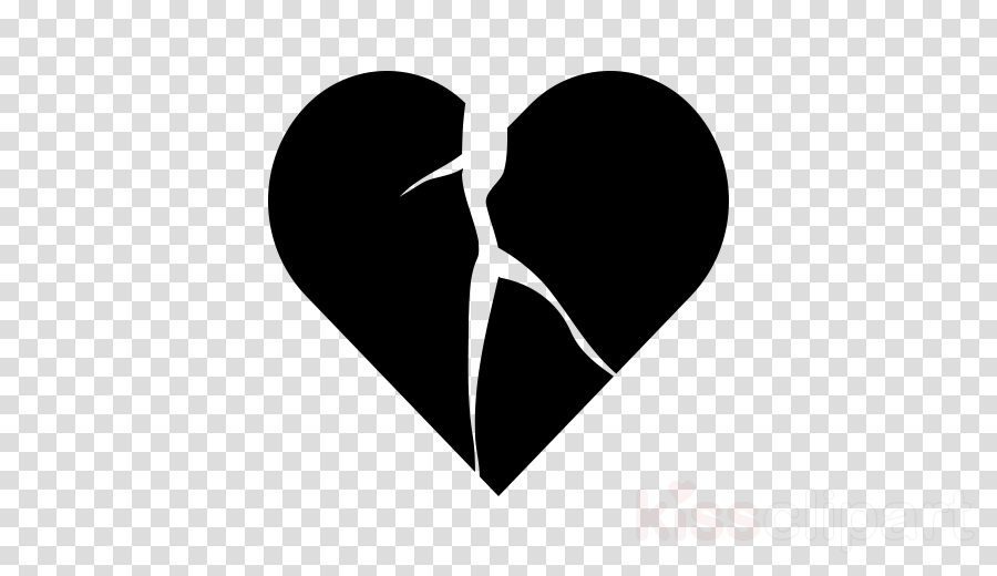 black heart love black-and-white hand