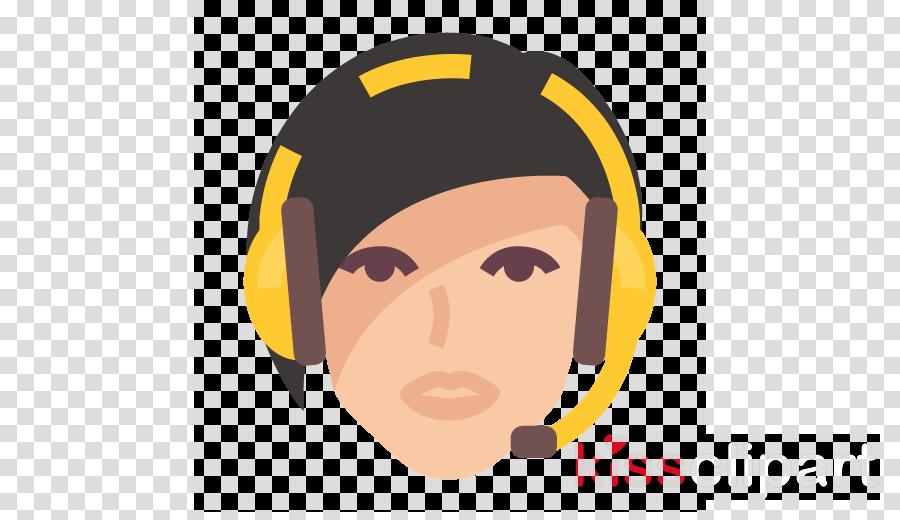 face facial expression cartoon head yellow