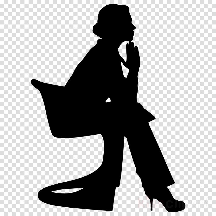 silhouette sitting standing leg black-and-white