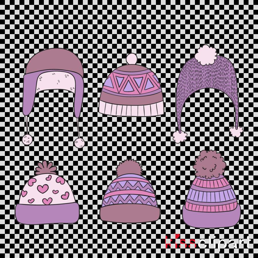 pink violet bonnet cap