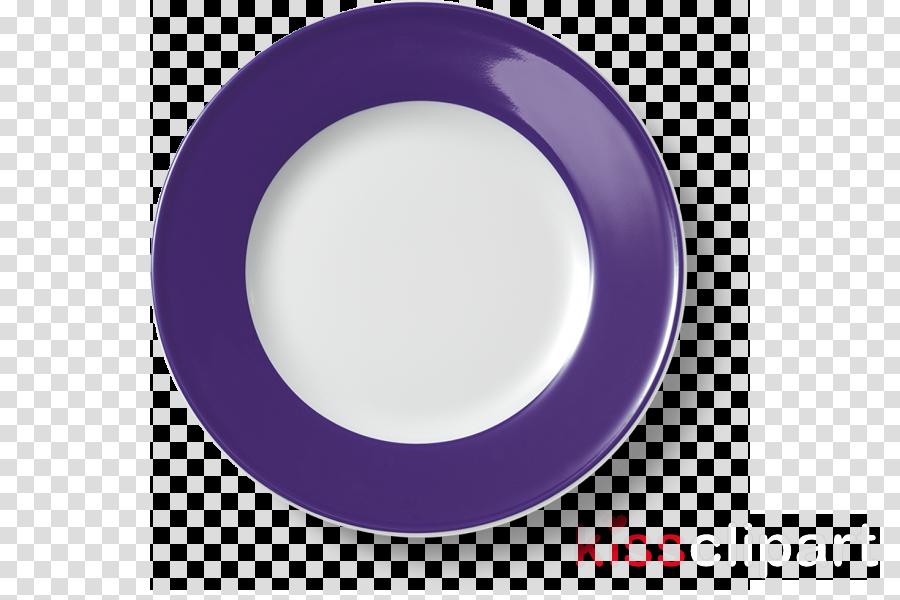 dishware violet purple plate cobalt blue
