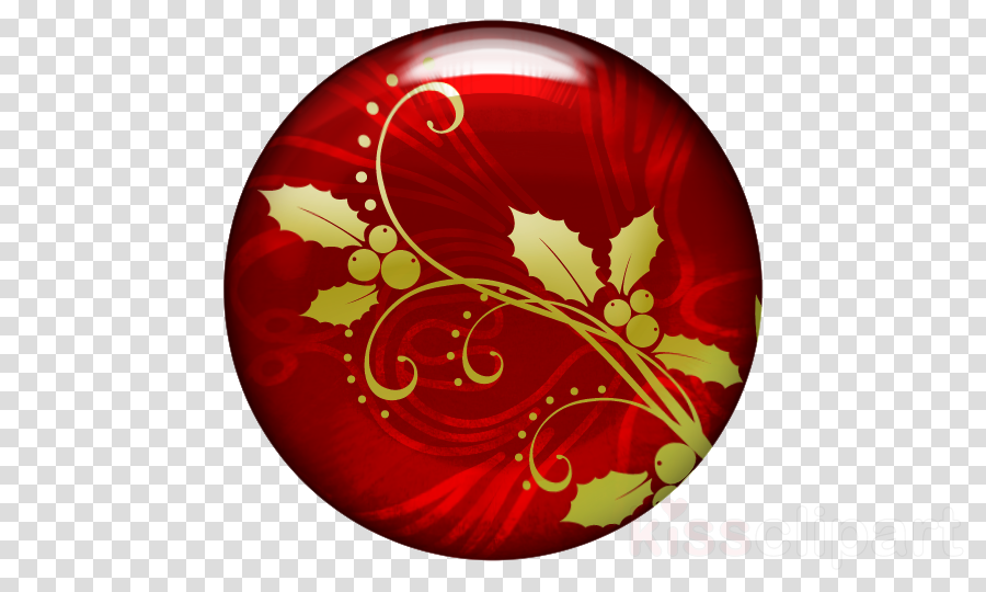 red leaf ornament maroon plate