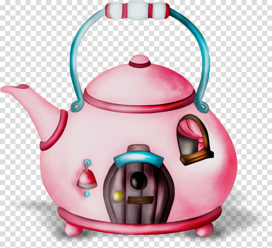 kettle teapot home appliance pink lid