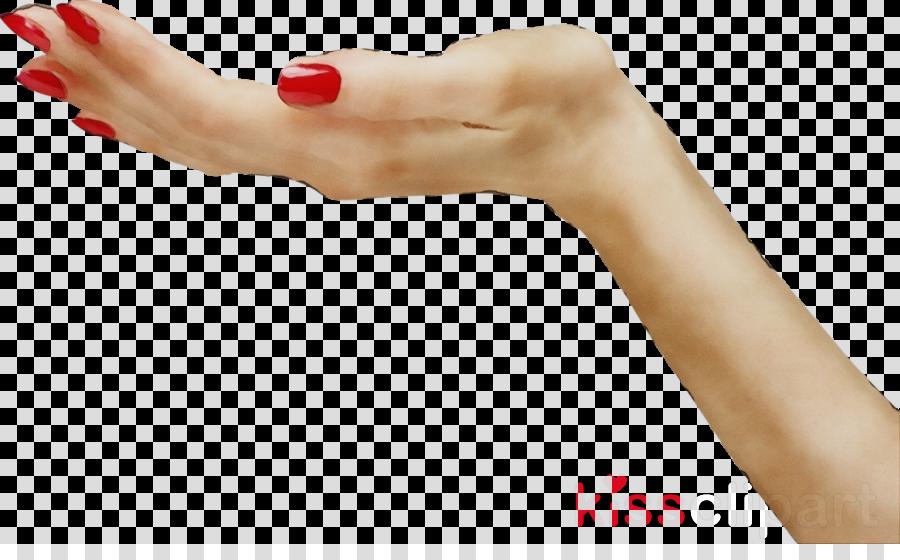 finger hand nail skin arm