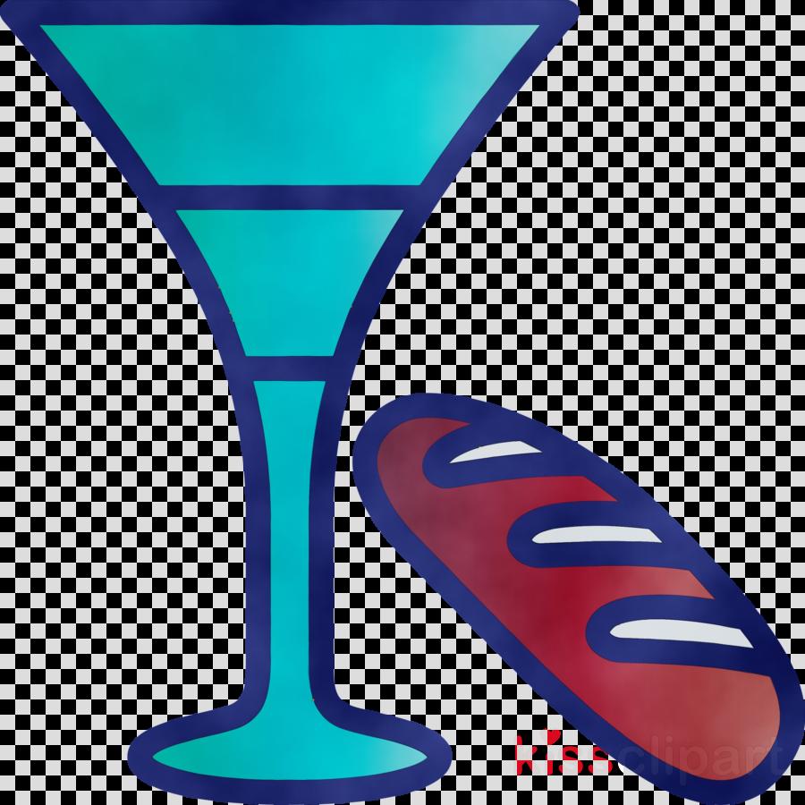 drinkware martini glass stemware electric blue champagne stemware