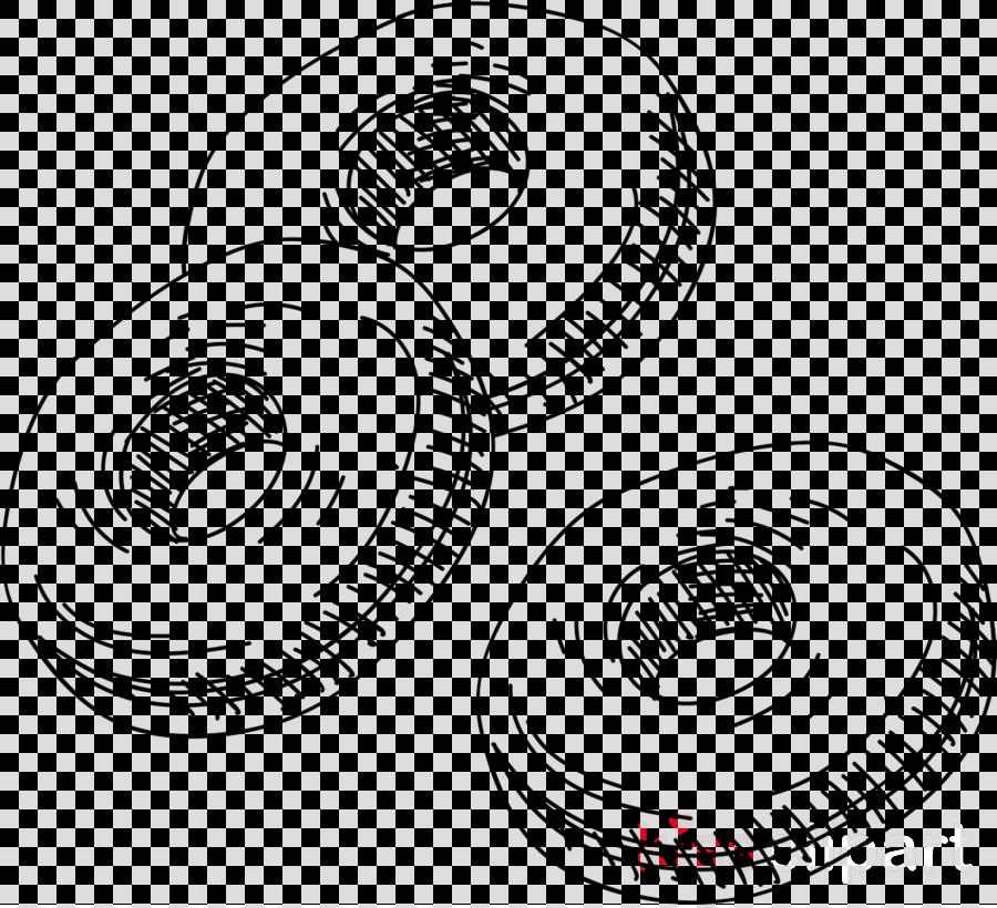 line art circle auto part