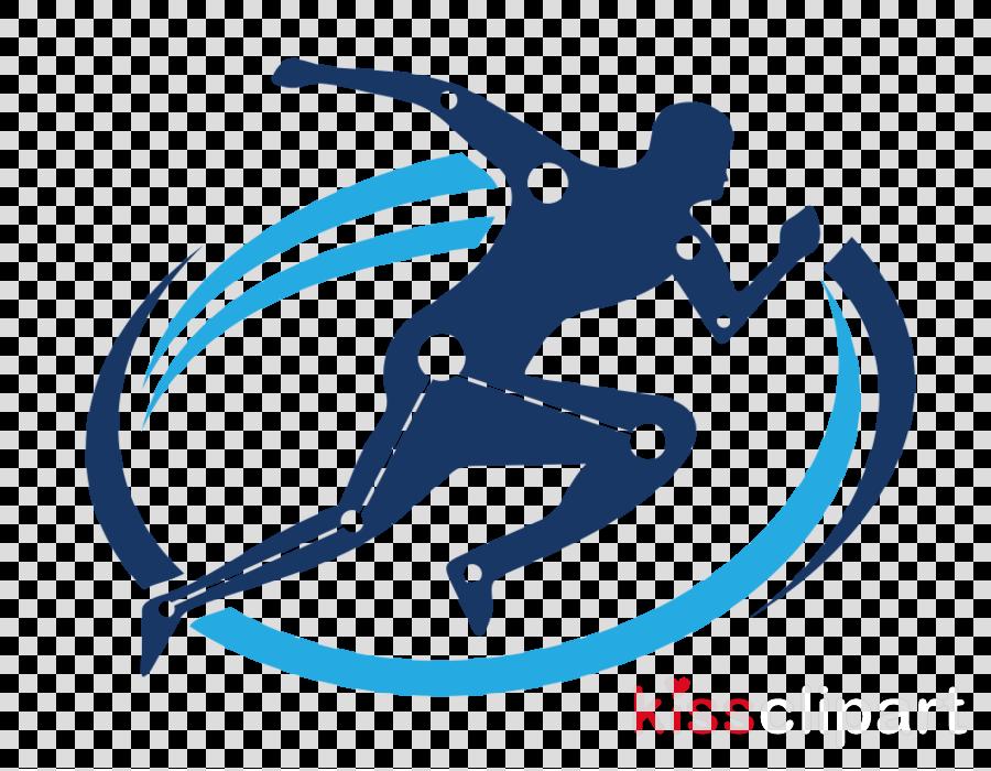 skier recreation logo jumping sports equipment
