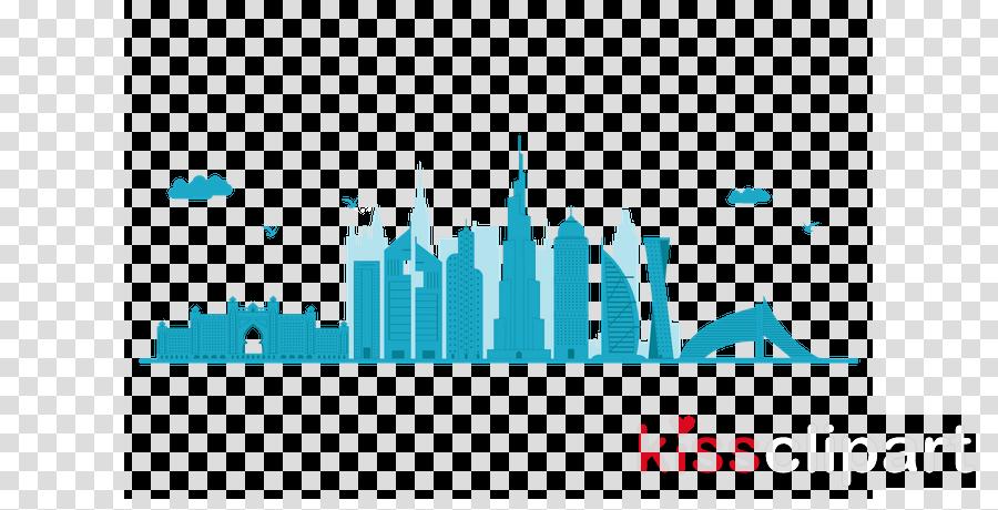 skyline city human settlement cityscape turquoise