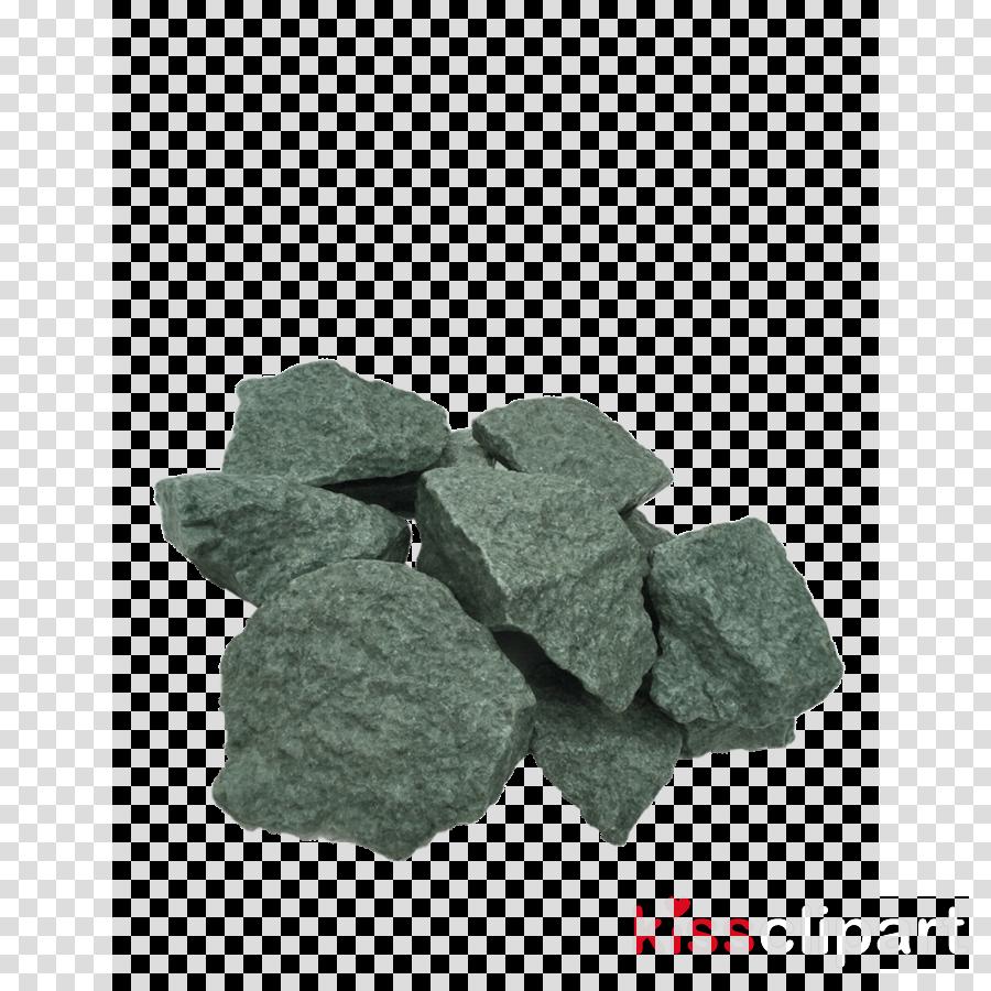 green rock grass mineral