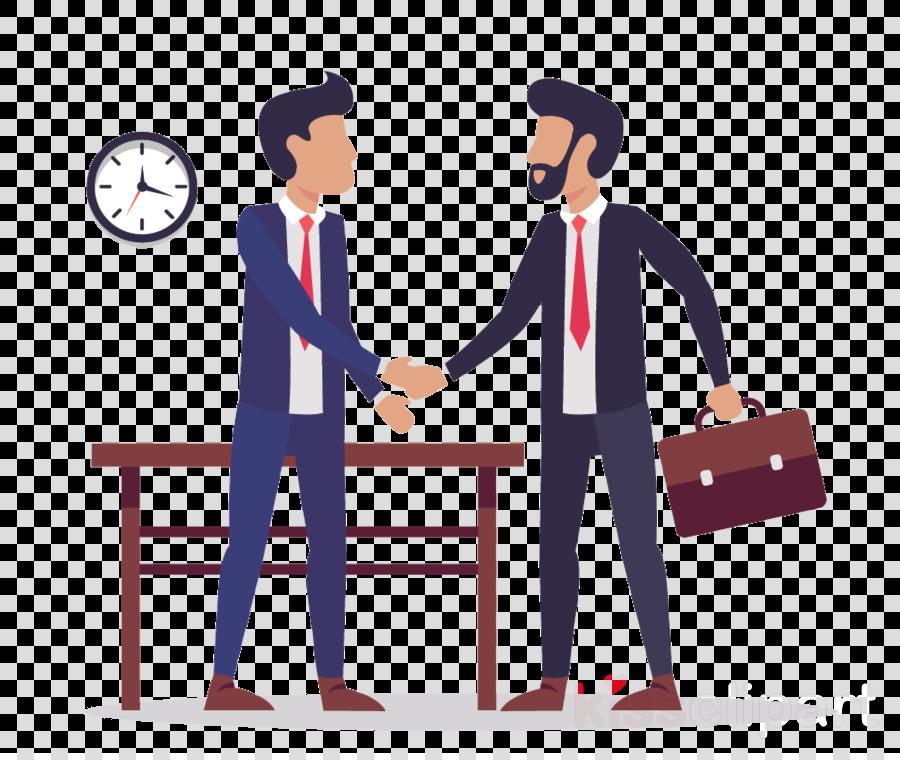 cartoon conversation job white-collar worker collaboration